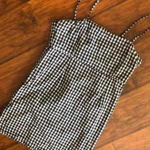 "Gingham mini dress - ""LIONESS"" - size s"